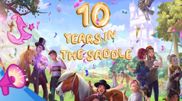 Началось празднование десятой годовщины Star Stable, игроков ждет множество событий и подарков
