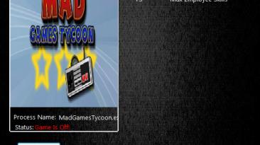 Mad Games Tycoon: Трейнер/Trainer (+3) [0.160818b] {MrAntiFun}