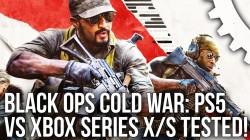 Black Ops Cold War сравнили на PlayStation 5 и Xbox Series X|S. Стабильную версию получили владельцы консоли Microsoft