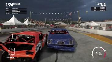 Wreckfest - Геймплей на PS4 Pro