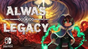 """Метроидвания """"Alwa's Legacy"""" готовится к релизу на Nintendo Switch"""