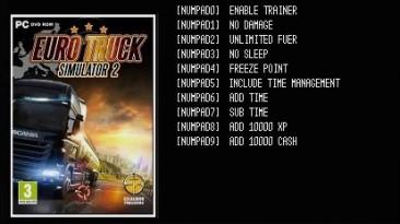 Euro Truck Simulator 2: Трейнер/Trainer (+10) [Ver.1.25.3s(x64) Steam] {LIRW / GHL}
