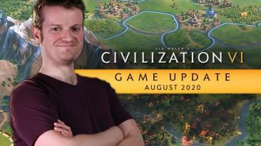 В новом видео Civilization VI разработчики рассказали об обновлении этого месяца