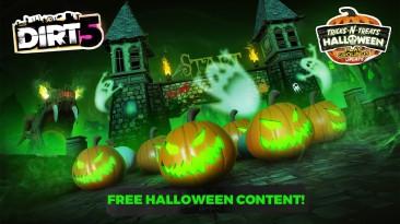 Для DiRT 5 вышло бесплатное обновление, посвящённое Хэллоуину