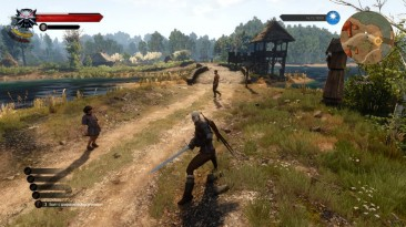 """Witcher 3: Wild Hunt """"Элементы раннего интерфейса"""""""