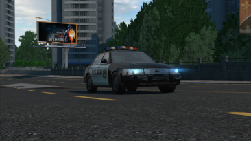 """Need for Speed: Undercover """"ford crown victoria police cruiser"""""""