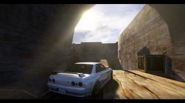 Гонки на de_dust2 в Counter-Strike. Игроки перенесли знаменитую карту в Assetto Corsa