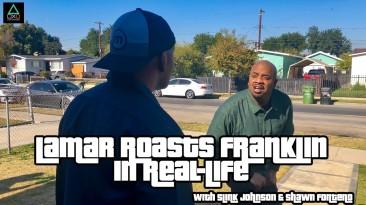 Идеально воссозданная сцена Ламара и Франклина из GTA V в реальной жизни