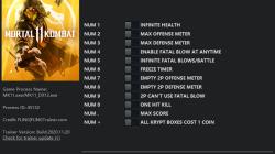 Mortal Kombat 11: Трейнер/Trainer (+12) [1.0 - 17.11.2020] {FLiNG}