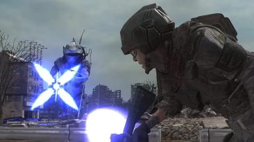 Первый геймплей и пара скриншотов Earth Defense Force 6, демонстрирующие гигантских пришельцев и множество разрушений