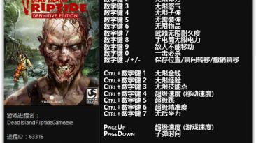 Dead Island: Riptide - Definitive Edition: Трейнер/Trainer (+22) [1.0] {FLiNG}