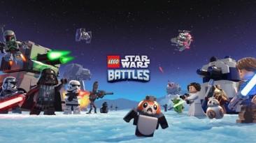 Lego Star Wars Battles выйдет эксклюзивно на Apple Arcade на следующей неделе