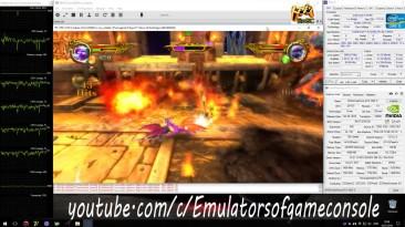 Spyro: Dawn of the Dragon - пример эмуляции PS3 версии