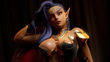 Дизайнер персонажей Subverse опубликовал концепт-арты следующей вайфу Элайши