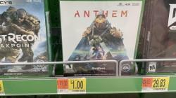 В США Anthem уже продают за 1$