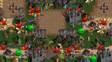 "Heroes of Might and Magic 3 ""Карта для мода MoP, Heroes of Might and Magic III: Master of Puppets"""