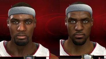 "NBA 2K13 ""Lebron James Face"""
