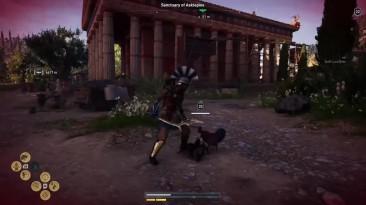 Злые курицы атакуют игроков Assassin's Creed