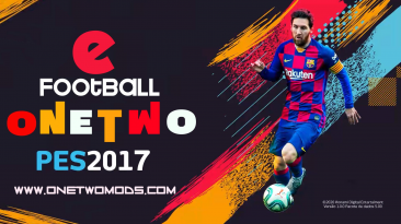 """PES 2017 """"Мод One Two v7 (AIO)"""""""