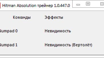 Hitman: Absolution: Трейнер/Trainer (+2) [1.0.447.0] {-Al-ex-}