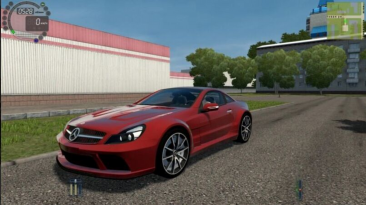 "City Car Driving ""Mercedes-Benz SL65 AMG V12 BiTurbo v1.5.8 - 1.5.9.2"""