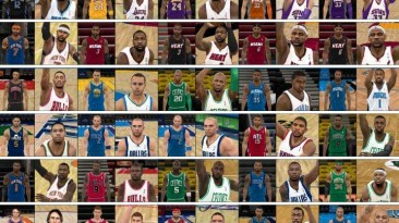 """NBA 2K11 """"Cyber Faces Pack V1 by GH33 by GH33"""""""