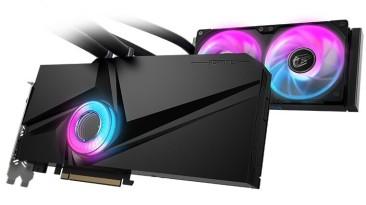Видеокарта Colorful iGame GeForce RTX 3090 Neptune OC-V оснащена системой жидкостного охлаждения