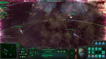 """Battlefleet Gothic Armada """"прохождение на русском Столкновение Крейсеров глава 04 обзор Ч2"""""""