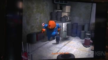 "Grim Fandango Remastered ""Геймплей PS4 - PSX 2014"""