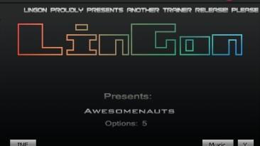 Awesomenauts: Трейнер/Trainer (+5) [Update: 06.10.13] {LinGon}