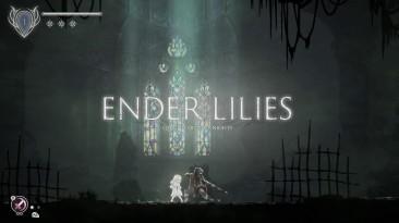 Темная фэнтезийная метроидвания Ender Lilies: Quietus of the Knights доступна в раннем доступе Steam