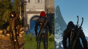 "Witcher 3: Wild Hunt ""Капюшоны и другие вещи для ведьмака (версия 2.0) UPDATED"""