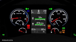 "Euro Truck Simulator 2 ""Приборная панель для SCS+RJL Scania R И S g.3 (v1.39.x)"""