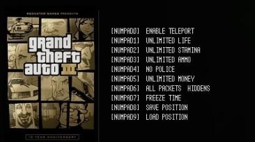 Grand Theft Auto 3 (GTA III): Трейнер/Trainer (+8) [Latest Steam] {LIRW / GHL}