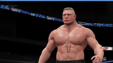 "WWE 2K16 ""Brock Lesnar Наряд (Лицевая анимация) WWE 2K17 Порт мод"""