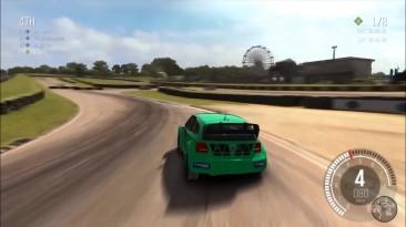 DiRT Ралли - Volkswagen Polo Rallycross Геймплей (PC HD)