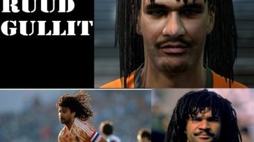 """PES 2011 """"face Ruud Gullit """""""