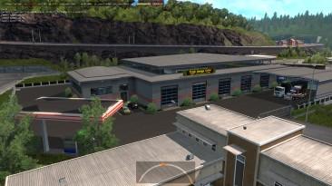"""Euro Truck Simulator 2 """"Новые Префабы Скандинавский Гараж ETS2 1.35.x"""""""