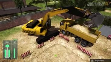 "Construction Machines Simulator 2016 ""Стрим - ч3"""