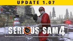 Обновление 1.07 для Serious Sam 4 добавляет рождественское событие и режим выживания