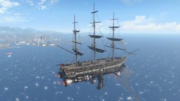 """Fallout 4 """"Небесный корабль - дом игрока / Sky Ship"""""""