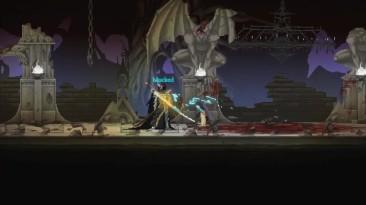 Трейлер к консольному релизу Dark Devotion - мрачного платформера с грозными боссами