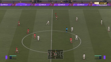 "FIFA 21 ""Логотип телеканала Матч Премьер"""