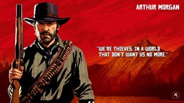 """Red Dead Redemption 2 """"Официальный пак артов"""""""