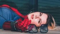 Косплей Человека-паука из Marvel's Spider-Man