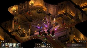 Black Geyser: Couriers of Darkness, RPG в духе Baldur's Gate, выйдет в начале 2021 года