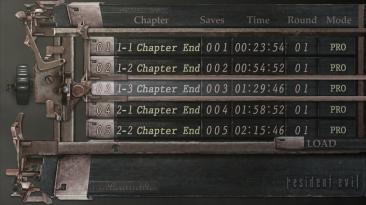 Resident Evil 4 - Ultimate HD Edition (2014): Сохранение/SaveGame (Всё пройдено, всё открыто) [3DM]