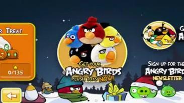 "Angry Birds Seasons ""Геймплей"""