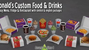"The Sims 4 ""Пак для создания кафе McDonald's"""