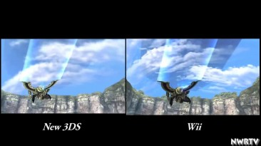 "Xenoblade Chronicles ""Сравнение 3DS vs. Wii"""